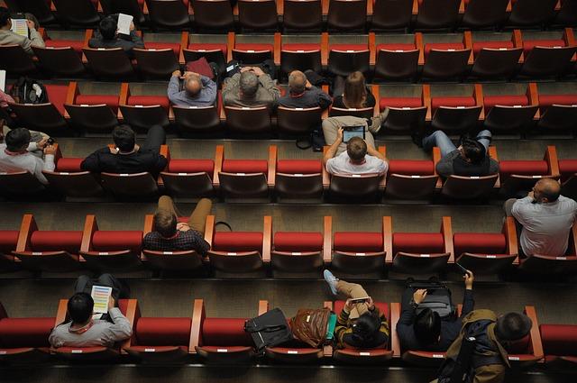Uczestnicy na konferencji
